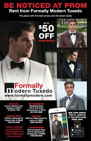 Formally Modern Tuxedo Ad