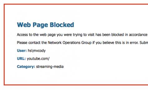 LAN Down Under: Internet censorship should be limited at school