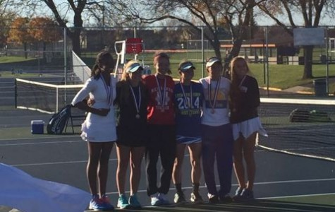 Girls' tennis finishes sixth in state, Chen places third