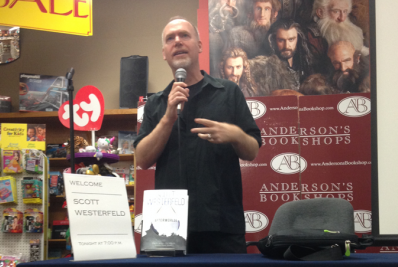 'Uglies' author Scott Westerfeld releases new book
