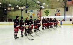 Varsity Hockey defeats Waubonsie Valley on Senior Night