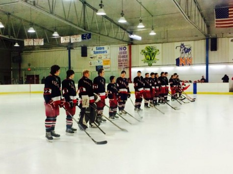 Varsity Hockey defeats Waubonsie Valley on Senior Night