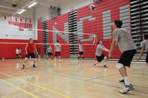 Photo Gallery: Boys' volleyball practice