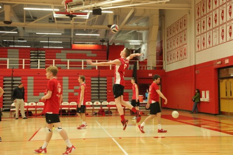 Boys' varsity volleyball triumphs against Naperville North