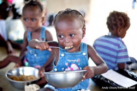 Feed My Starving Children aids developing nations in feeding the impoverished