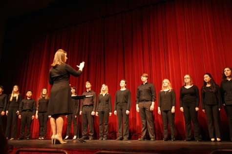 Choirs, student music groups host first concert with new director