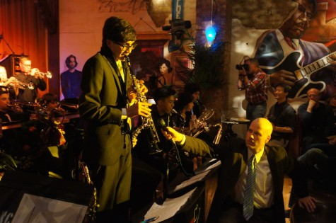 Naperville Central jazz bands play at Frankie's Blue Room for first time