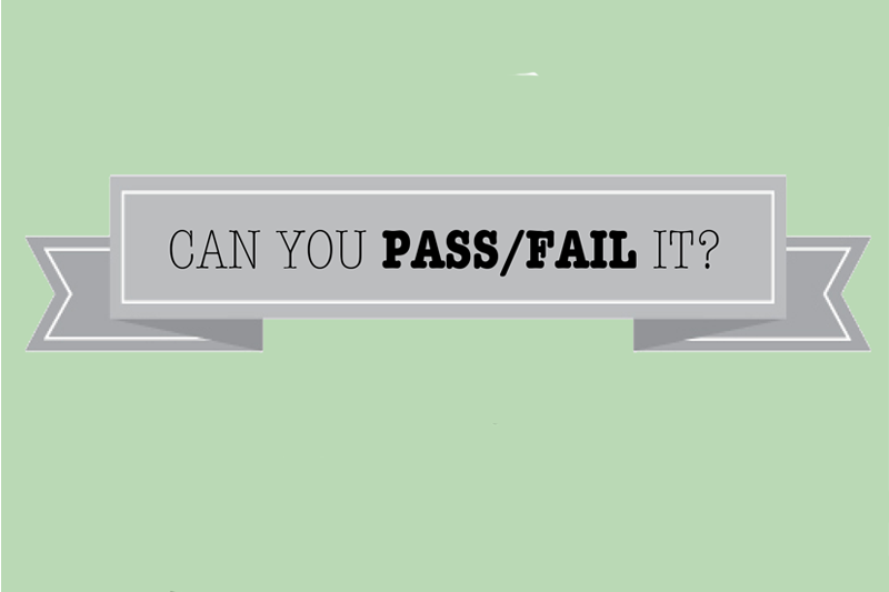 How do you feel about pass/fail elective classes?