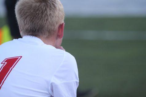 Photo Gallery: Varsity Boys' Soccer vs Sandburg
