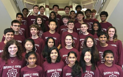 Science Olympiad Team competes in first competition at Palatine High School