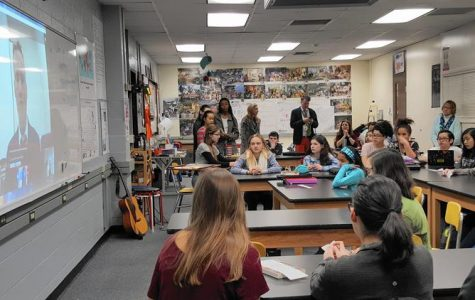 Jefferson Jr. High students discuss life in North Korea