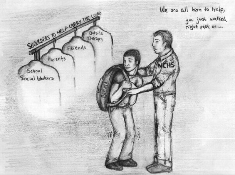 Sharing the heavy burden: resources available to Central students facing depression