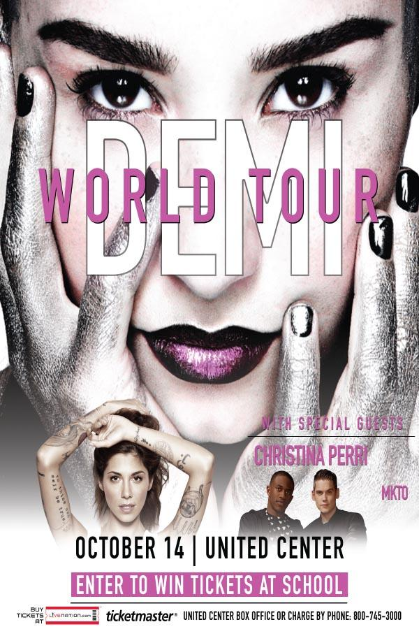 Enter to win tickets to see Demi Lovato