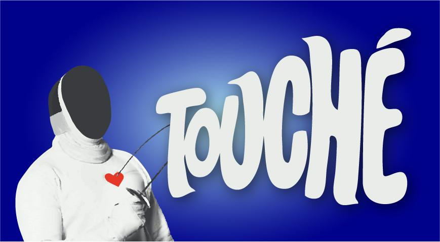 What does it mean when someone says touche