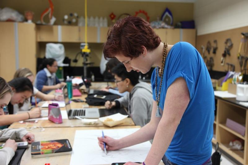 Students submit work for Scholastic Art and Writing Awards
