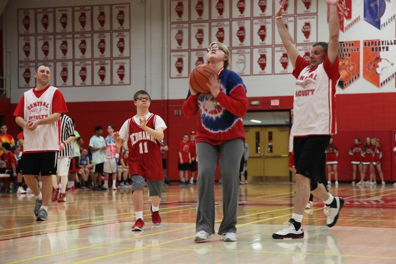 Student vs. Staff Basketball Game 2015