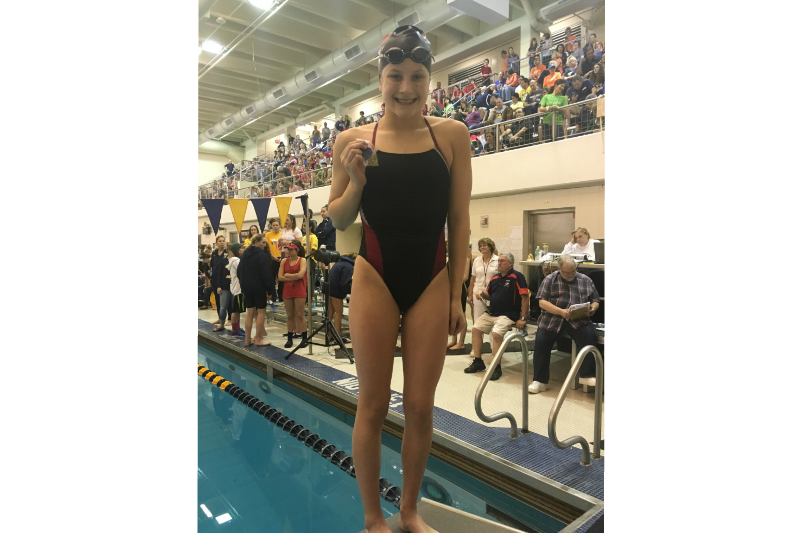 Sophomore+swimmer+Audrey+Coffey+meets+long-term+goal%2C+looks+toward+the+future