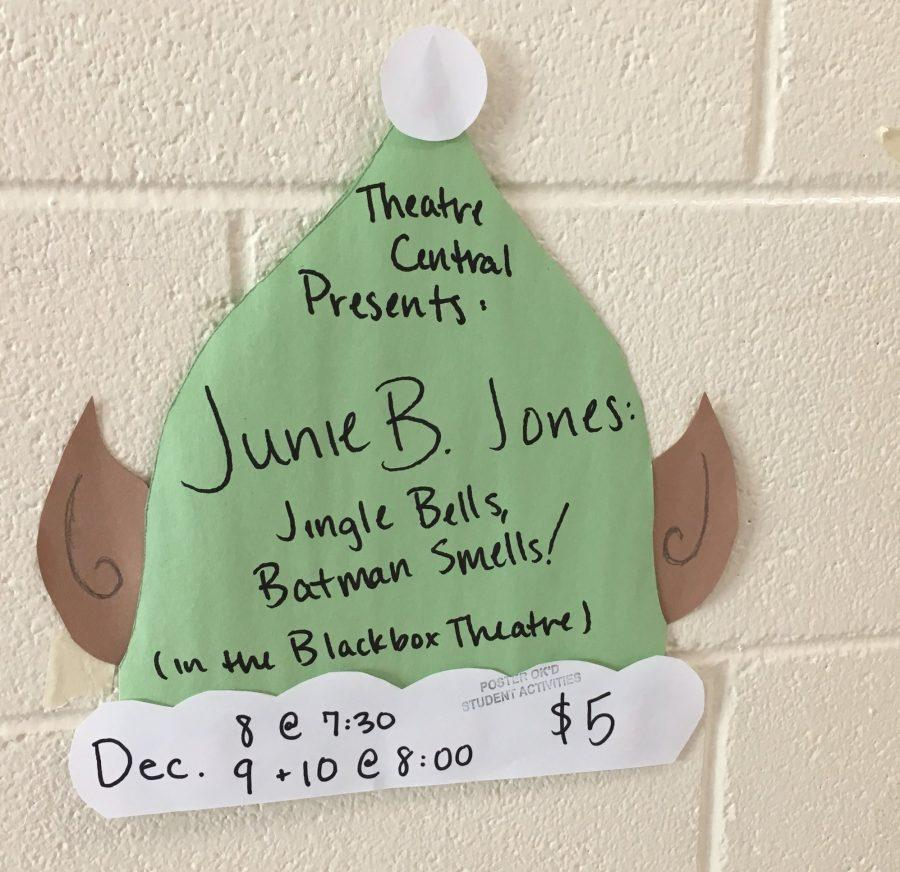 Theatre Central's annual holiday show to debut on Thursday, will feature children's character Junie B. Jones