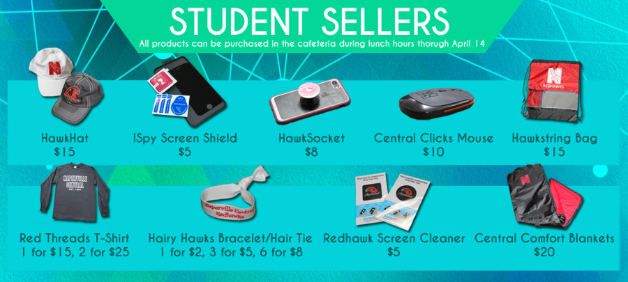 Entrepeneurship classes debut products, hope to make a profit