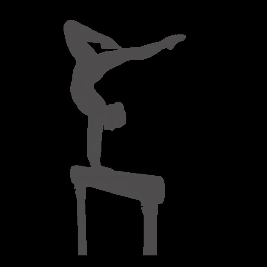 gymnast shadow