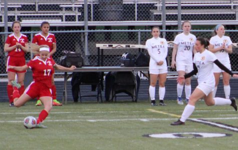 Varsity soccer's upperclassman show leadership, and set examples for new teamates