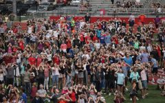 Central staff and students look to the sky on day of historic eclipse