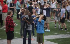 Solar Eclipse fascinates Central students
