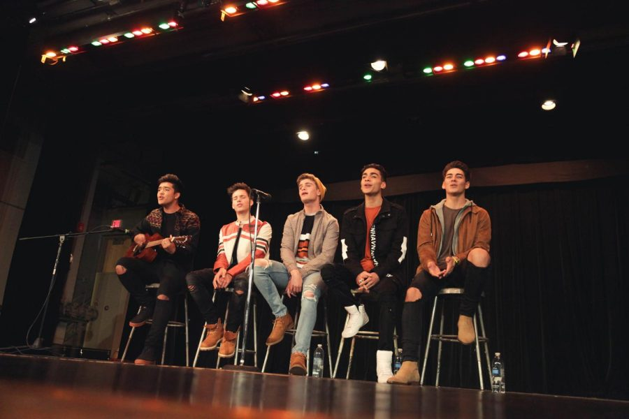 Rising pop stars In Real Life visit Naperville Central