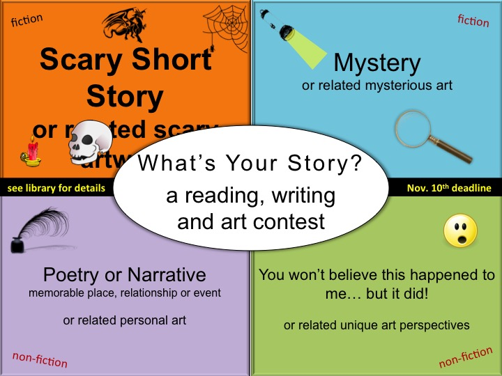 'What's Your Story?' contest promotes 'the power of story'