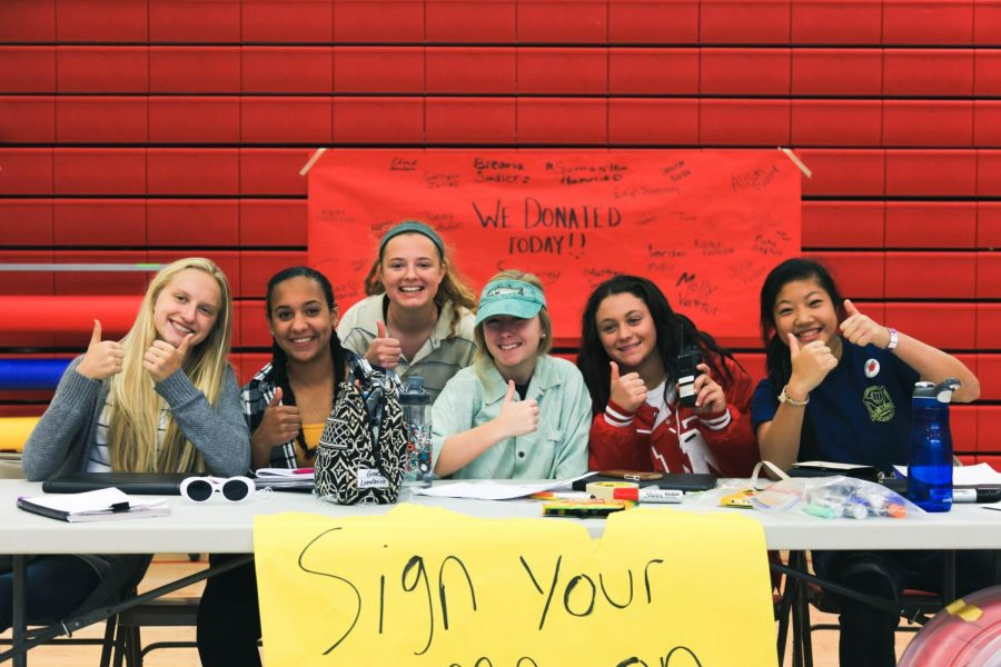 Photo Gallery: SAC blood drive Oct. 31