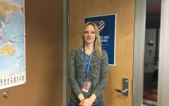 Humanities teacher Letitia Zwickert inspires students to connect with world