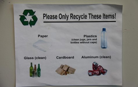 Poor practice of recycling at Central leads to unnecessary waste