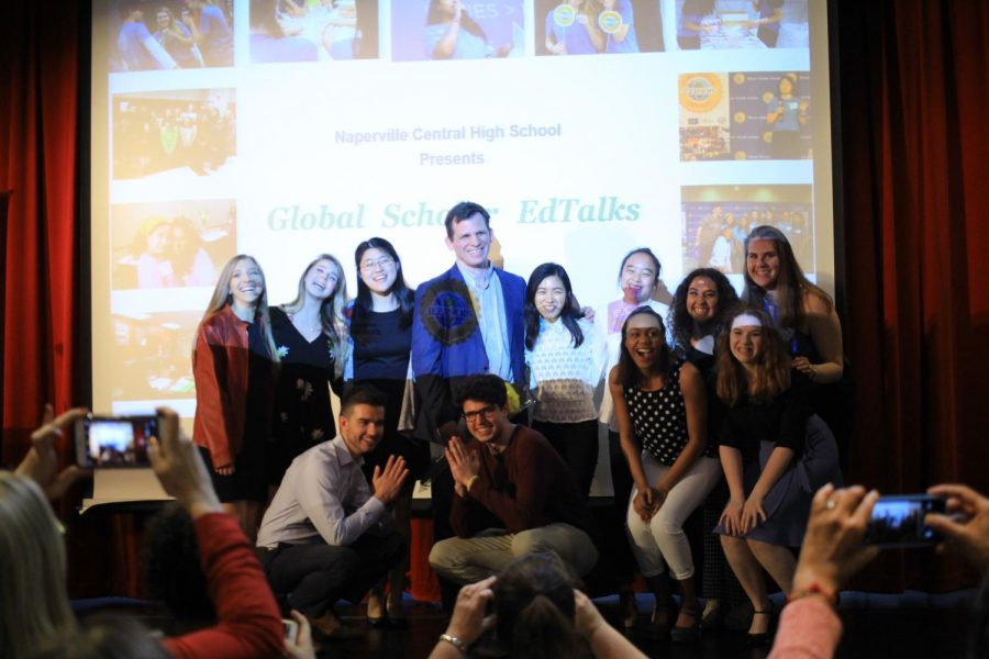 Global Scholar students share experiences at Global Scholar EdTalks
