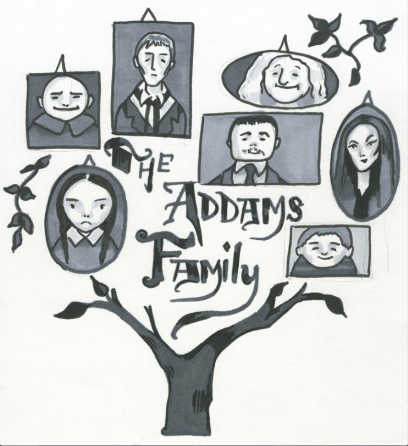 %E2%80%98The+Addams+Family%E2%80%99+spring+musical+reflects+original+comic+strips%2C+debuts+Friday