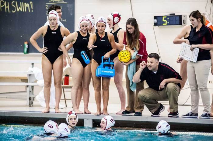 Girls water polo coach inducted into Hall of Fame