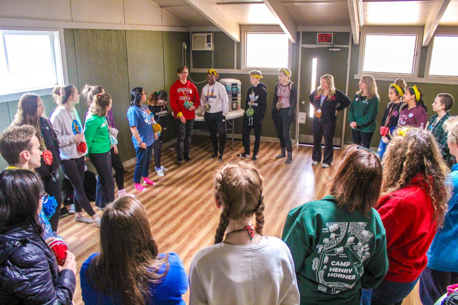 Snowball attendees participate in a workshop during last year's retreat. Students are excited to return this fall.