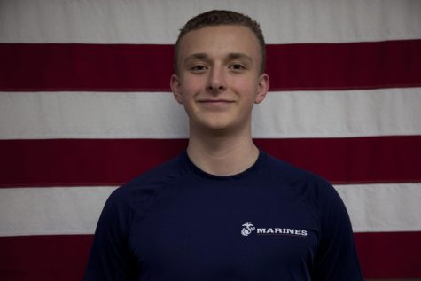 Moving on to the military: Luke Hallstrom