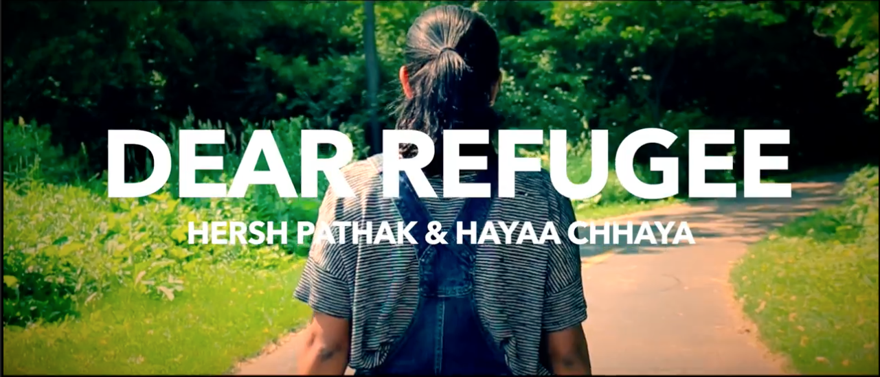 On Nov. 19 juniors Hersh Pathak and Hayaa Chhaya will receive two awards for their video on refugees after winning at the United Nations Plural Plus Video Competition