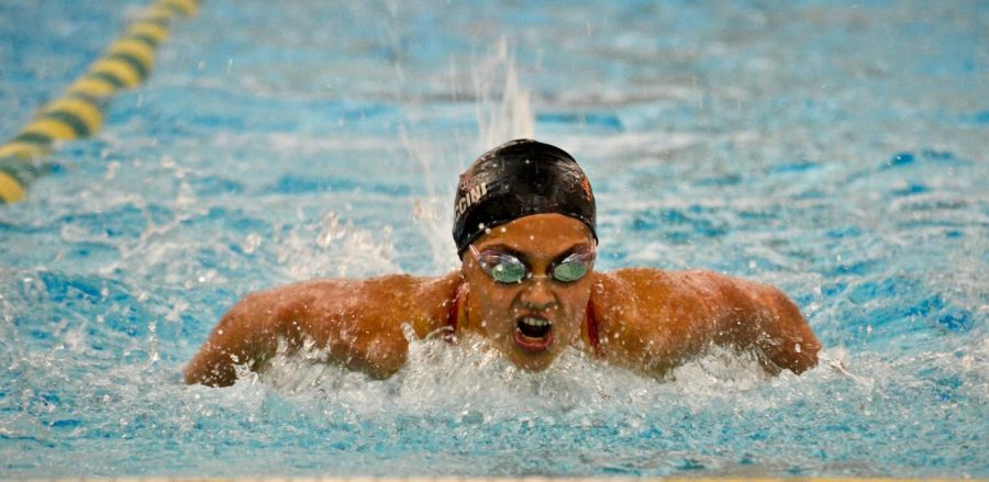 Girls swim and dive prepares for challenging DVC