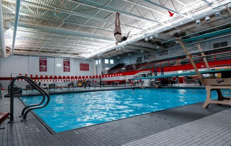 Despite lower numbers, boys diving team as strong as ever