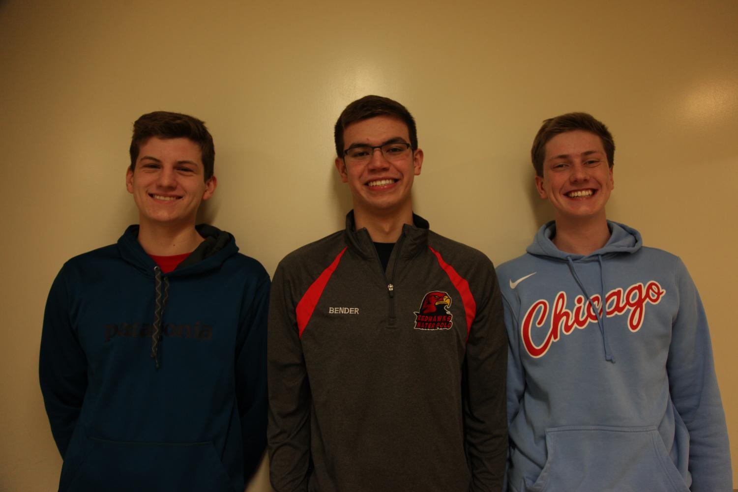 Puzzles Podcast features junior Henry Mills, senior Bender Russo and junior Mark Laboe, with new episodes available on Spotify, Apple Music and SoundCloud.