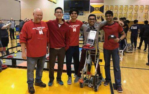 Robotics Team qualifies for World Championship