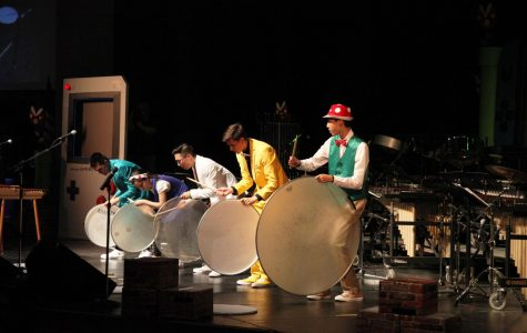 Central's annual Drum Show levels up with this year's video game theme
