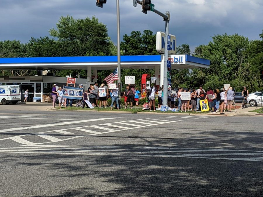 Comment by Gas Station employee sparks protest