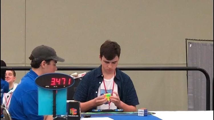 Joey Rubas Cube: Student takes love for classic puzzle to competitive levels