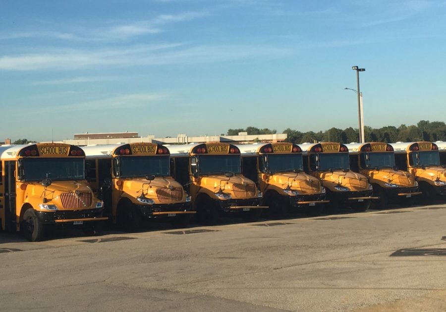 Buses arriving past 9 a.m. on late start Wednesday mornings