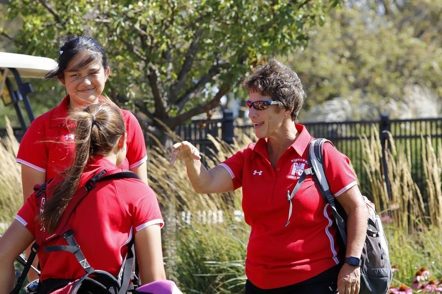 Retiring girls golf coach keeps things consistent in final season