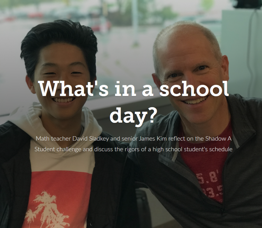 What's in a school day?