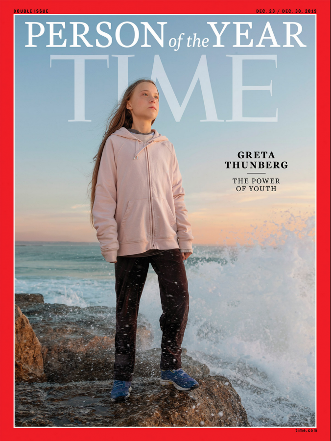 Greta Thunberg was named TIME's 2019 person of the year.