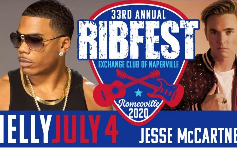 Nelly, Jesse McCartney to headline Ribfest